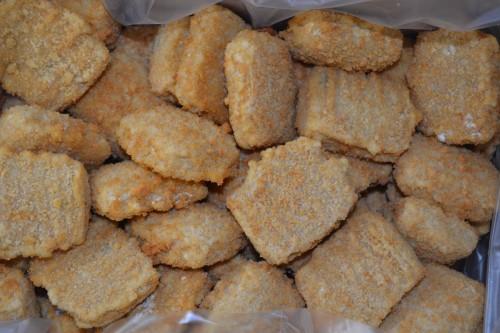Žuvies filė su česnakais, paniruota, 5 kg, šaldyta